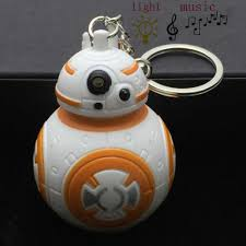 Bb8 Light Up Backpack New Star Wars The Force Awakens Bb8 Bb 8 R2d2 Droid Robot Led Glowing Sound Keychain Toys Keychain Pendant Kids Boys Girls Gift