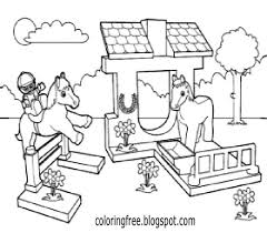 Small Picture Lego Friends Horse Coloring Pages Coloring Pages