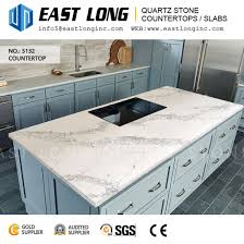 customized thickness 30mm quartz stone for wall panel kitchen countertops
