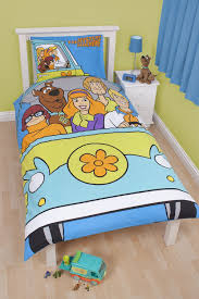 scooby doo scooby doo bedding mystery reversible single bed duvet cover and
