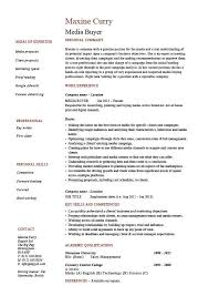 Buyer Resume Icebergcoworking Icebergcoworking