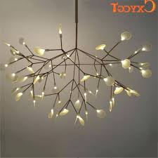 tree branch lighting modern chandelier wood led large chandeliers lighting fixture lamp for e88