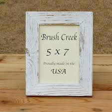 rustic picture frame white wash