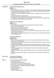 Medical Technology Resume Sample Resume Ideas Namanasa Com