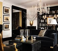 black and gold dining room ideas for