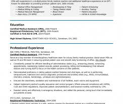 Medical School Application Resume Medical School Application