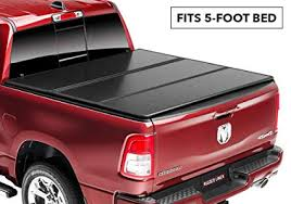 Amazon.com: Rugged Liner E-Series Hard Folding Truck Bed Tonneau ...