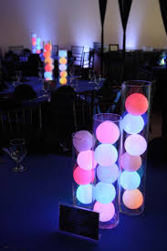 diy lighting effects. color changing led deco balls stacked in glass cylinder vases makes for super cool diy light diy lighting effects