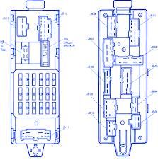 mazda 323 1990 main fuse box block circuit breaker diagram mazda 323 1990 main fuse box block circuit breaker diagram