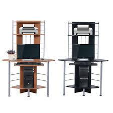 home office computer desk. Computer Desk Corner PC Table Workstation Wood Storage Furniture Home Office A