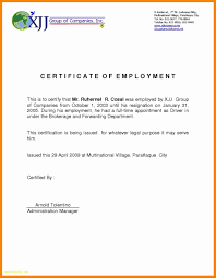 Sample Certification Letter Of Employment Best Of Ce Epic