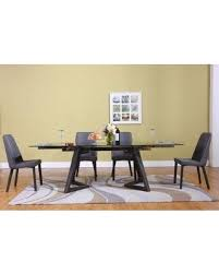 ivy bronx grote modern extendable dining table bf022471 modern extendable dining table n61