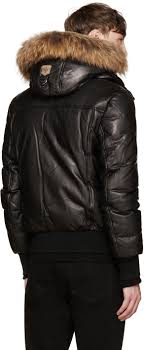 mackage black leather down glen jacket men mackage down coat hot mackage adali