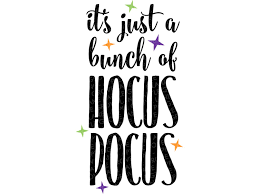 Its hocus pocus time multicolored lettering with candle and magic circle, colored vector illustration. Bunch Of Hocus Pocus Svg Halloween Svg Fall Svg Witch Svg Spel Apple Grove Lane
