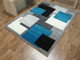 Image Blue Starting At 9000 6000 Save 33 Off Tempo Square Rug Blackteal Love Furniture Tempo Square Rug Blackteal