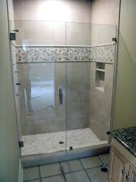 glass shower door seal m natural brown cherry wood wall mounted cabinet incredible doors designs curved