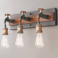 industrial bath lighting. Dripping Faucet Bath Light - 3 Industrial Lighting H