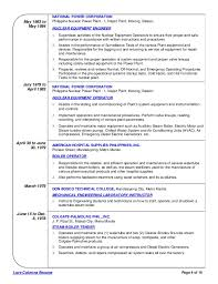 Nuclear Engineer Sample Resume 7 Awesome Nuclear Engineering Resume  Contemporary Office