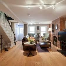basement apartment design ideas. Basement - Traditional Walk-out Light Wood Floor Idea In New York With Gray Apartment Design Ideas N