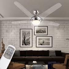 Klimageräte Led Decken Ventilator 137cm Leiser Wind Lüfter Wärmer