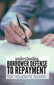 Understanding Borrower Defense To Repayment For Student Loans