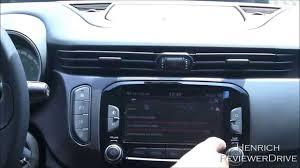 Uconnect infotainment system of Alfa Romeo Giulietta my 2014 ...