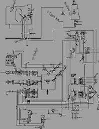 awd wiring diagram motor grader komatsu gd530a aw 2ey list of spare parts