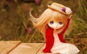 Cute Little Doll wallpaper