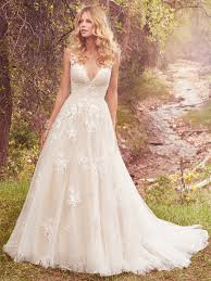 peach wedding dress. Meryl Wedding Dress Maggie Sottero