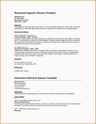 Career Objective For Mechanical Engineer Resume Resume Customer Service Objective For Resume Examples