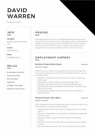 Example Of A Objective For A Resumes Personal Trainer Resume Objective No New Example Template
