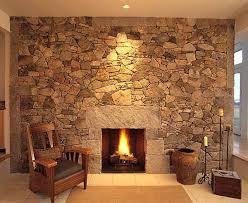Marvelous Fireplace Rock Wall Ideas - Best idea home design .