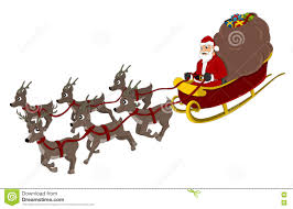 santa claus and reindeer. Unique Santa Santa Claus And Reindeer Cartoon For And Reindeer