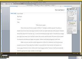 Mla Formatting A Paper Under Fontanacountryinn Com