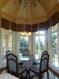 Kitchen Bay Window Treatment Window Treatments For Bay Windows In Kitchen Window Treatments