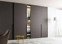 grey modern sliding closet doors