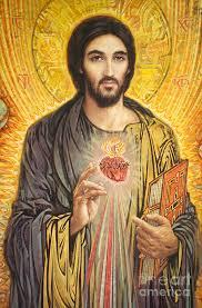 sacred heart of painting sacred heart of olmc by smith catholic art