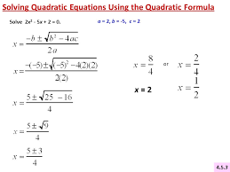3 solving quadratic