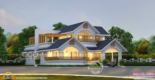 Traditional Contemporary House Designs Traditional Contemporary House 2562 Sq Ft Kerala Home