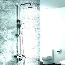 moen shower system shower systems with sprays rainfall system w moen dual shower head brushed