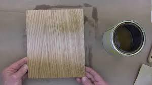Wood Veneer For Cabinets Staining And Finishing Wood Veneers C 2014 Youtube