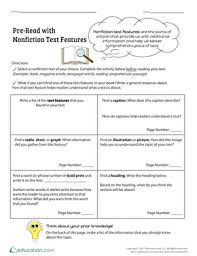 glossary for children text feature. Pre-Read With Nonfiction Text Features Glossary For Children Text Feature