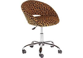 leopard office chair. Leopard Office Chair Shop For A Healy Desk At Rooms Warm Print And 11 T