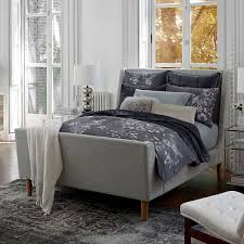 upholstered sleigh bed frame. Unique Sleigh Scroll To Next Item On Upholstered Sleigh Bed Frame A