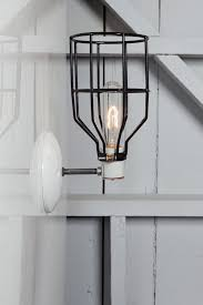 industrial wall lights. Industrial Wall Light - Black Wire Cage Sconce Lamp Lights I