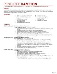 Shipping And Receiving Resume Shipping And Receiving Clerk Resume Example Warehouse Vesochieuxo 8