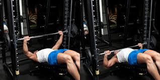 Pectoral Battle Royale Barbells Vs Dumbbells Vs Smith MachineSmith Bench Press Bar Weight