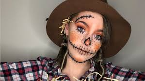 scarecrow costume makeup tutorial