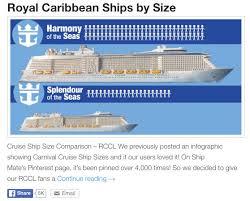 Royal Caribbean Cruise Ship Size Chart Memorable Royal Caribbean Ships Size Chart Royal Caribbean