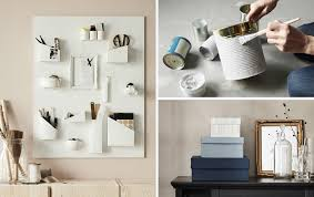decorating with ikea furniture. A Group Of Photos Upcycled Diy Projects Showing Wall Organiser, Painted Cans And Decorating With Ikea Furniture .